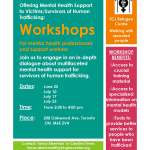 Workshops for mental health professionals and support workers