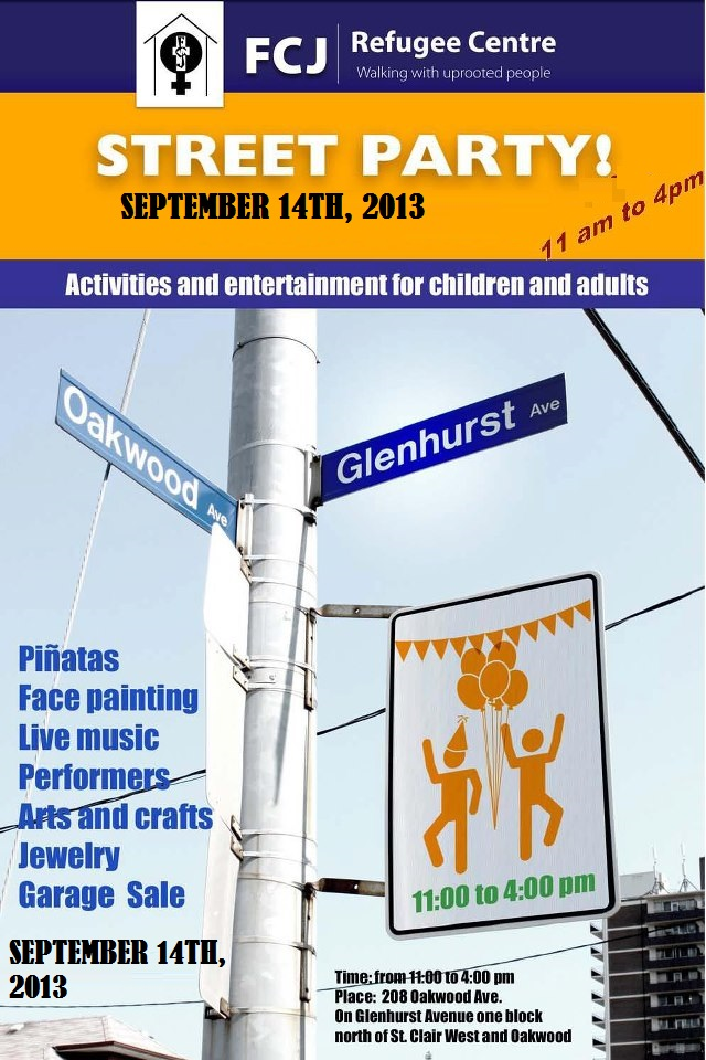 street party September 14