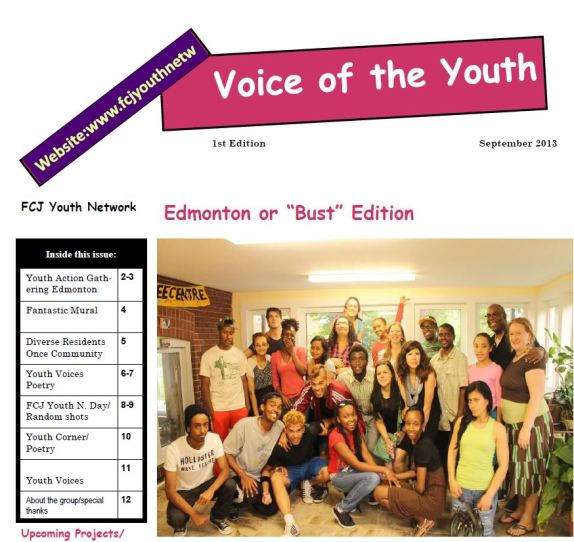 Youth Newsletter picture