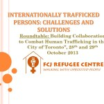 Internationally trafficked persons - challenges and solutions