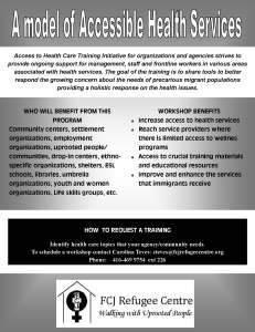 Access to Health Care Training for Agencies