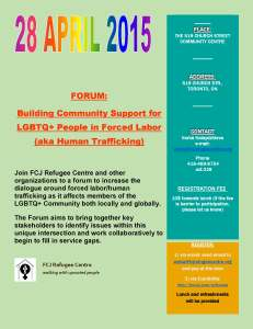 ForumLGBTQLabourExploitation28April