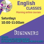 English classes now also on weekends