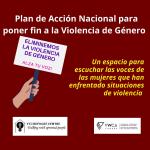 Iniciativa de participación comunitaria para el Plan Nacional para erradicar la Violencia de Género