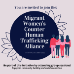 Join the Migrant Women's Counter Human Trafficking  Alliance
