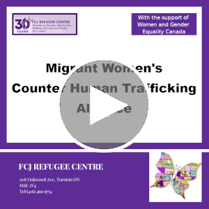Webinar | Migrant Women's Counter Human Trafficking Alliance
