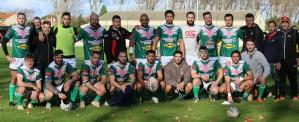 la phot de l'équipe de rugby lézignan corbières