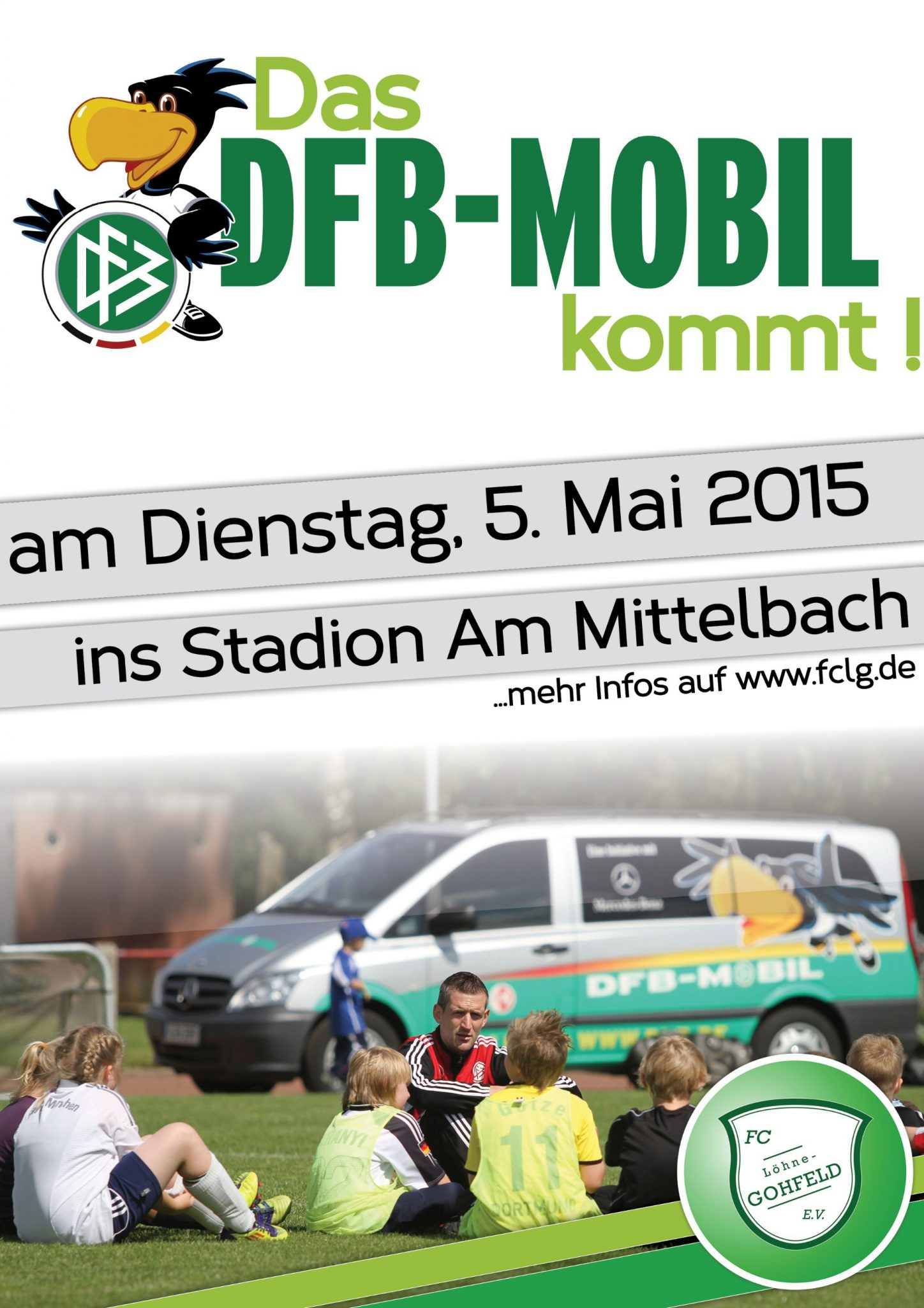 Das DFB-Mobil kommt!