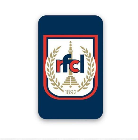 Sticker plaque RFCL
