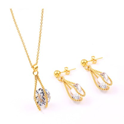 Fashion Jewelry with cubic zirconia Set