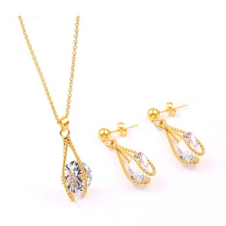 Fashion Jewelry with cubic zirconia Set