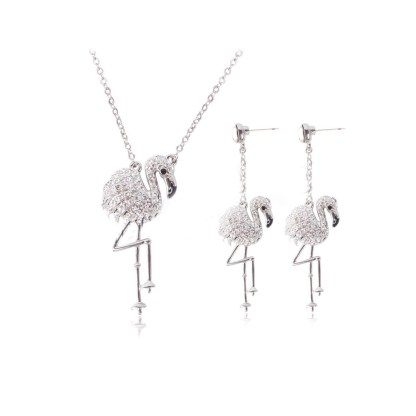 Jewelry Flamingo Sets - White