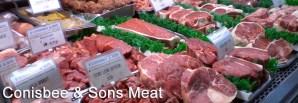 Meat in Conisbee Butcher, Guildford, Surrey