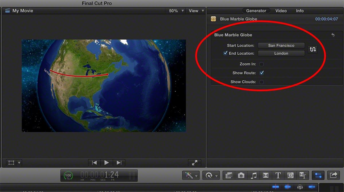 FCPX imovie maps 6