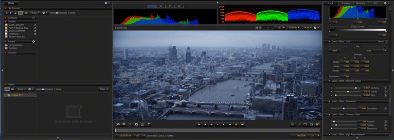 feature film workflows