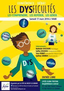 Dysficultés Noisy-Le-Grand 17 mars