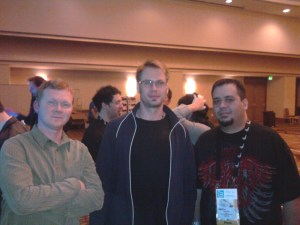 Dr. Mike North, Alex and I at the CSWP event