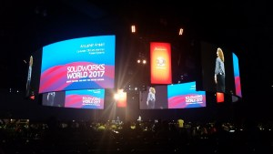 Main Stage at SOLIDWORKS World 2017 sww17
