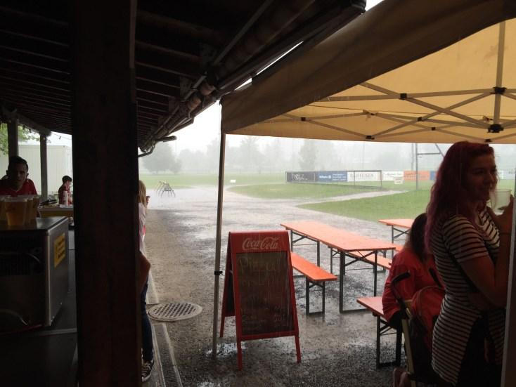 ...und schlussendlich als Sturm viel Wasser und Wind brachte.