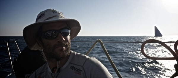 Pablo Arrarte. Fotos: Stefan Coppers/Team Brunel/ Volvo Ocean Race