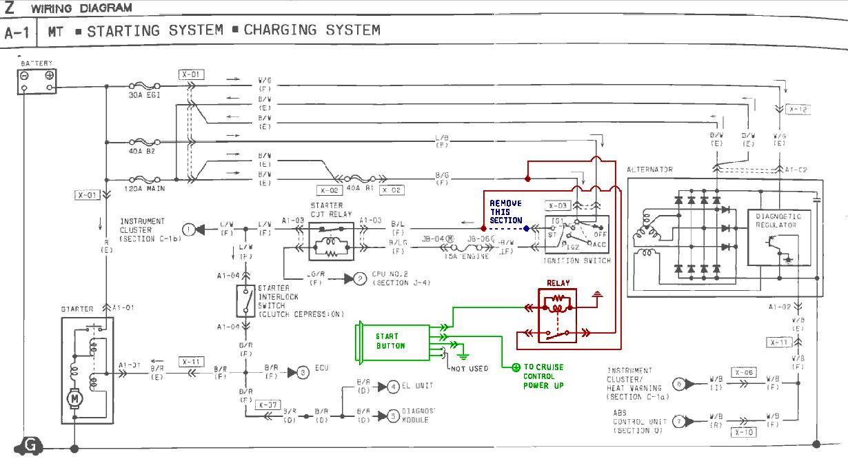 Wiring Diagram For Push Button Start Free Download Wiring Diagram ...