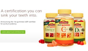 Ads for vitamins