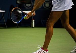 a female tennis athlete