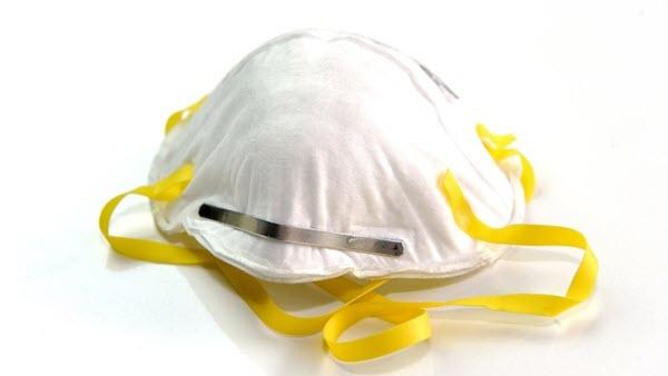 Photo of N95 respirator