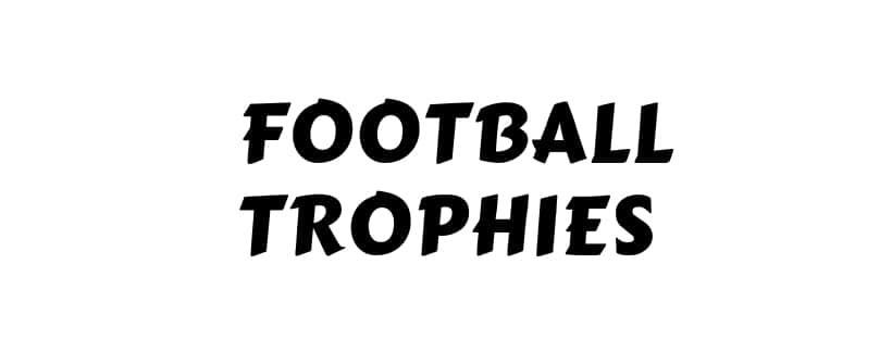 List of Football Trophies India