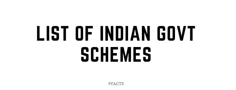 indian government yojana