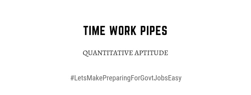 time work pipes problems pdf download
