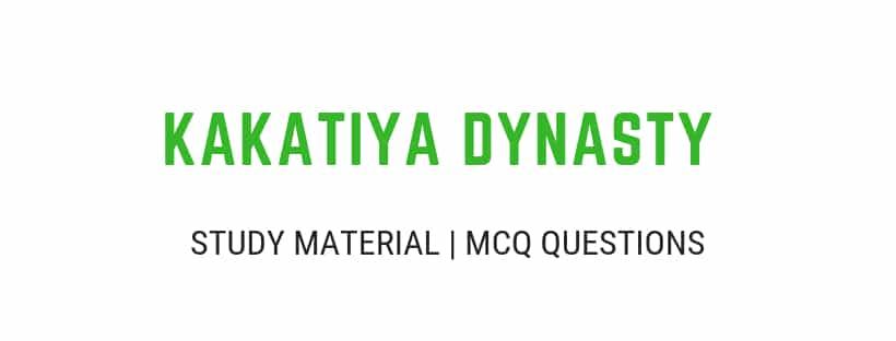 Kakatiya's Age Dynasty Rulers