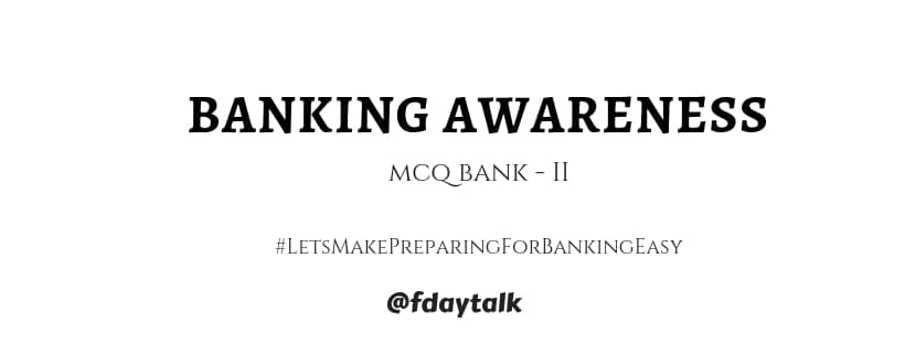 Banking awareness questions and answers pdf free download