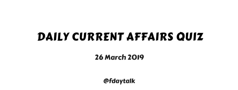 current affairs quiz questions and answers