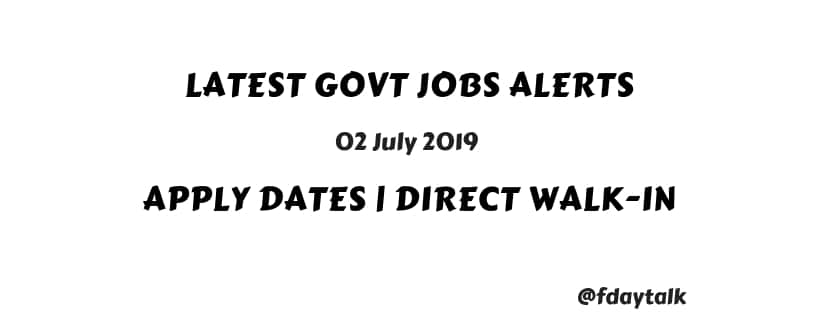 central government jobs for graduates 2018-19