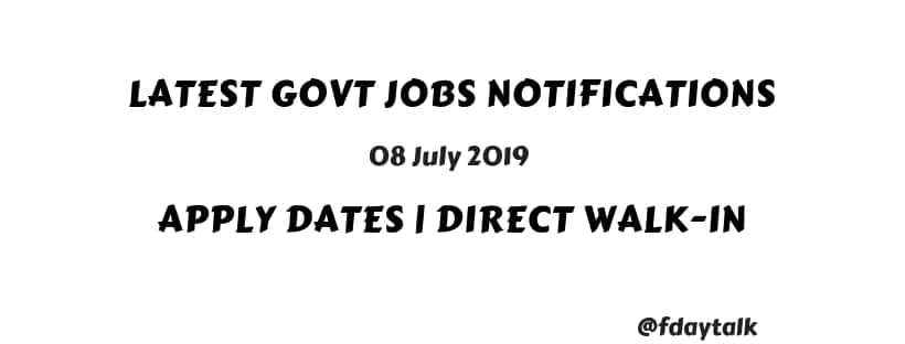 central government jobs for graduates engineers