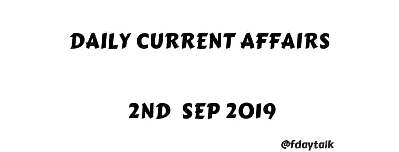 Current Affairs Daily in English