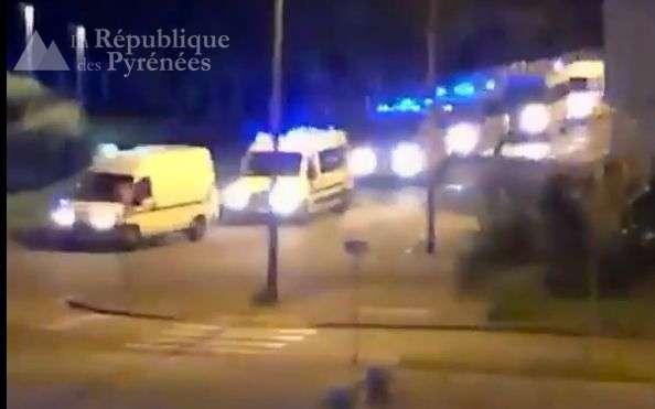 Przemoc w mieście w Ousse des Bois w Pau: trzech policjantów zostało rannych