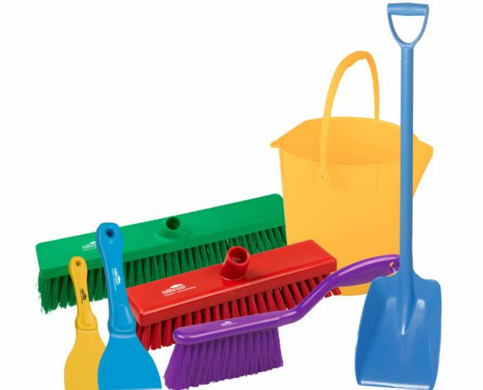 Make a clean sweep with Teknomek's new anti-bacterial cleaning range