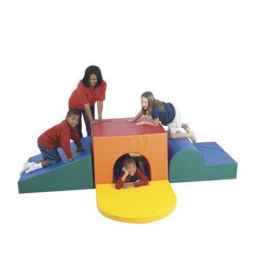 tunnel a escalader pour enfants d age