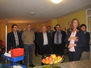 """in Fraktionen von CDU und FDP informierten sich im """"Haus Sonnenhof"""""""
