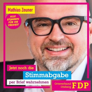 Read more about the article Jetzt Stimmabgabe per Briefwahl!