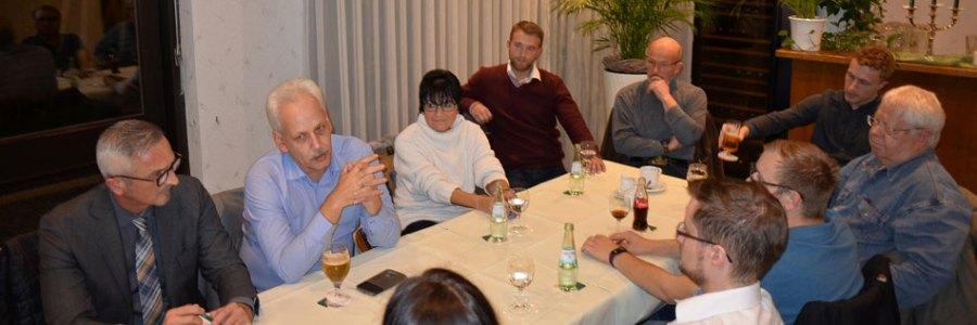 Neumitgliedertreffen in der Kupferstadt Stolberg