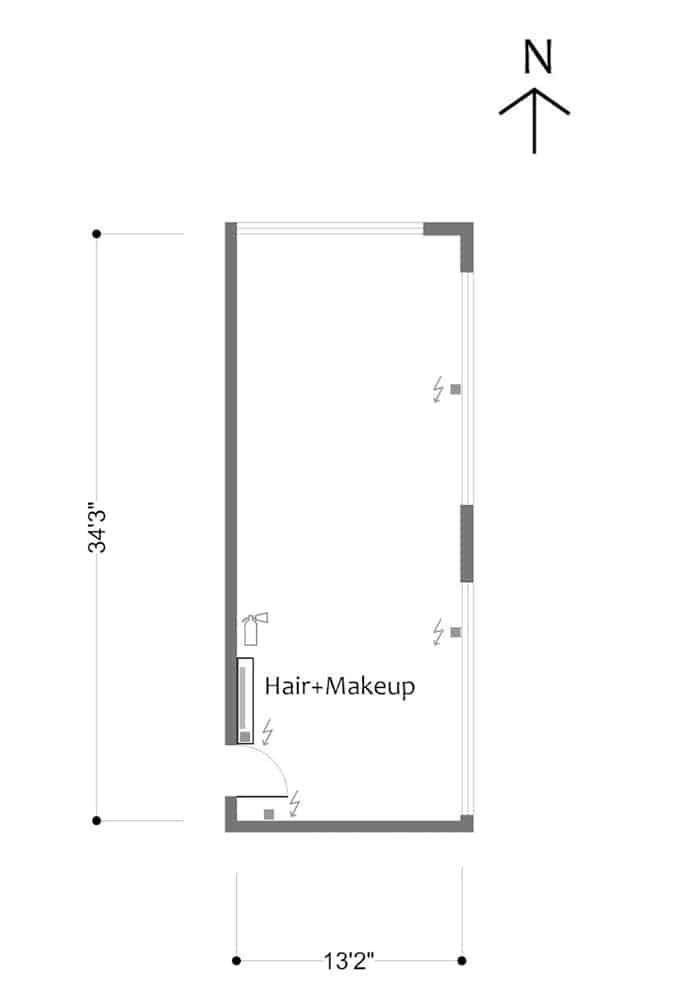 FD Studios - Stage F - floorplan