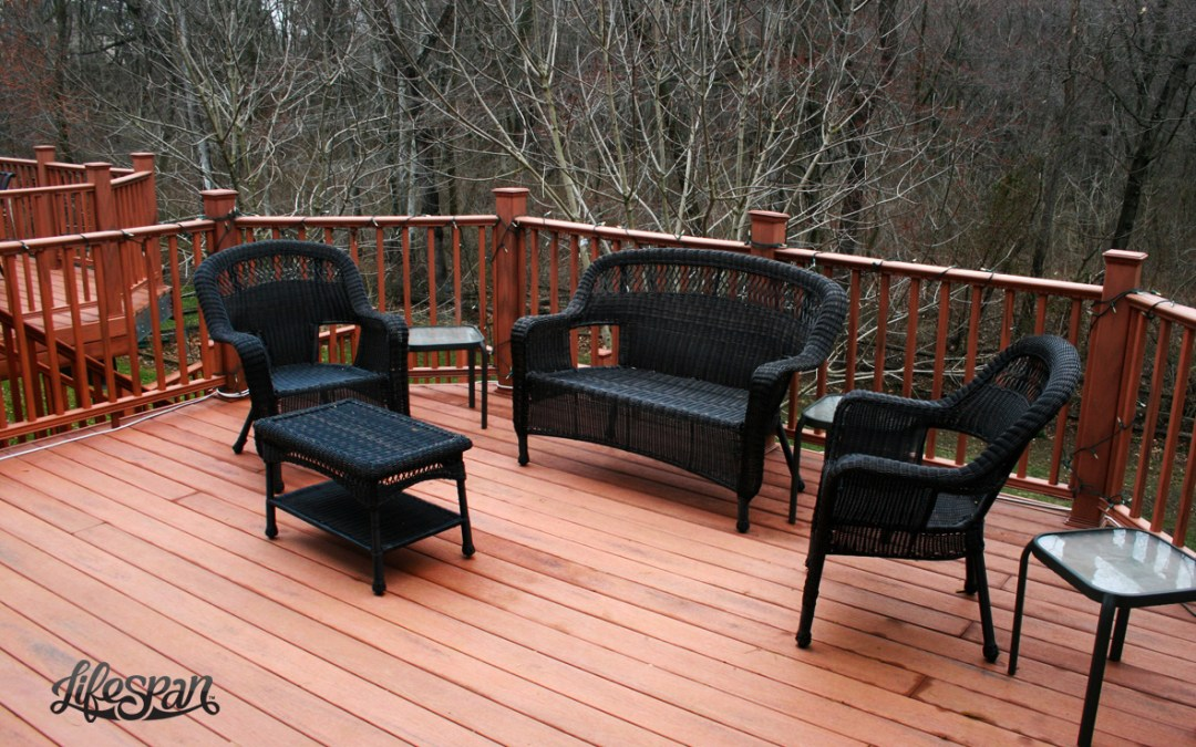 Delaware Steel Framed Deck