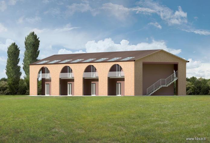 Cemento armato blu campus for Case di legno vendita