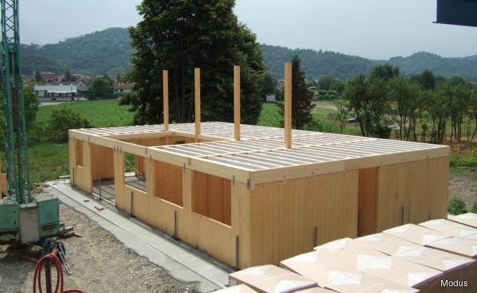 Bioarchitettura blu campus pagina 3 - Costo costruzione casa in legno ...