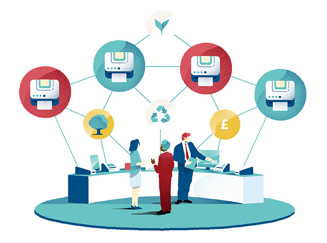 Sustainable Managed Print Solution