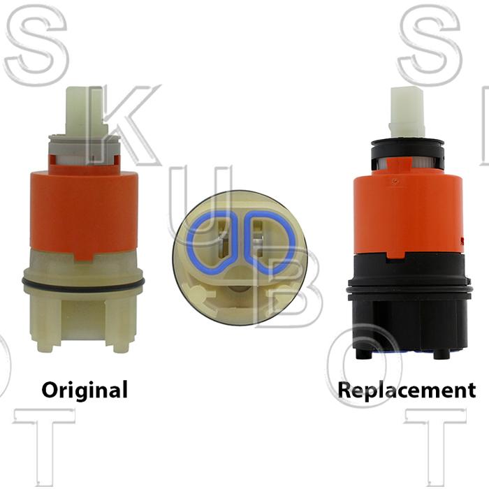 replacement wolverine brass 85660 pressure balancing cartridge