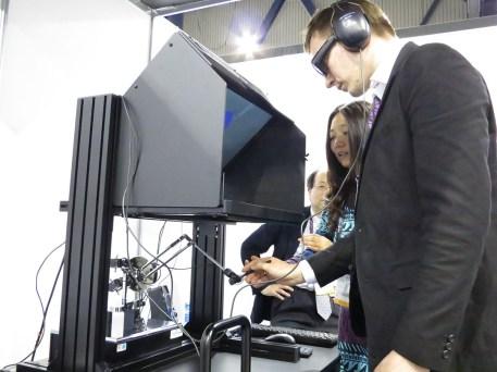 Multi sensory virtual world